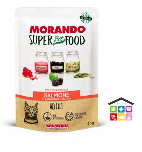 Morando SuperPetFood ADULT MOUSSE SALMONE 0,85g