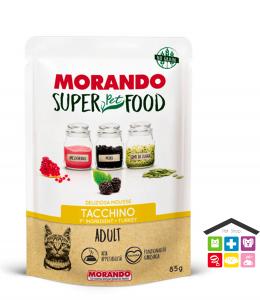 Morando SuperPetFood ADULT MOUSSE TACCHINO 0,85g bustina