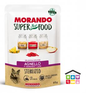 Morando SuperPetFood STERILIZED MOUSSE AGNELLO 0,85g bustina