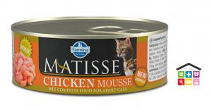 Farmina MATISSE mousse pollo 0,85g - 0,300g