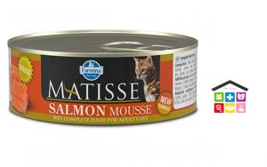 Farmina MATISSE mousse salmone  0,85g - 0,300g