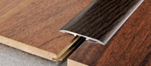 Profilo Adesivo in Alluminio rivestito con pellicola in Faggio scuro - LARGHEZZA: 4,0cm - ALTEZZA: 90cm - Scegli tu le misure!