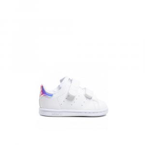 Adidas Stan Smith con Strappi Multicolore da Bambina