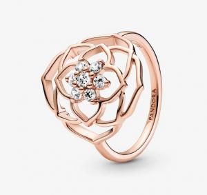 Anello Petali di Rosa