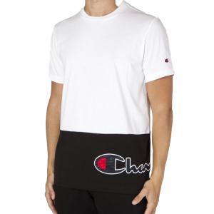 Champion T-Shirt Con Scritta Bianca da Uomo