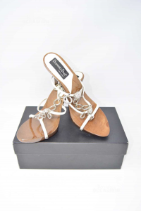 Shoes Col Heel Daniela Drei - Made In Italy N° 41