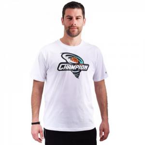 Champion T-shirt con stampa Bianca da Uomo