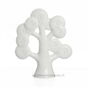 Albero della Vita in porcellana con scatola regalo 8x10 cm - Bomboniere