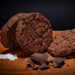 Biscotto al Cacao e Sale Maldon - 300g