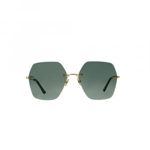 Occhiali da sole verde collezione Lovestory ad alta protezione