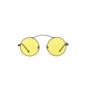 Occhiali da sole giallo collezione Met-ro Flat ad alta protezione