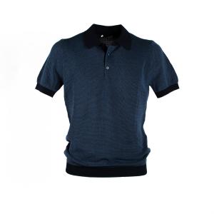 Polo Manica Corta in maglia Circolo Blu