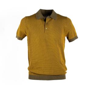 Polo Manica Corta in maglia Circolo Ocra