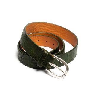 Cintura Orciani Cocco Coda Color Verde