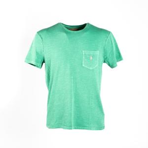 T-Shirt Polo Ralph Lauren Verde Acqua