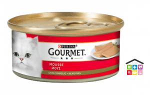 GOURMET® 195 GRAMMI MOUSSE CON CONIGLIO