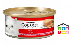 GOURMET 195G PATÈ CON VITELLO, FEGATO E VERDURE