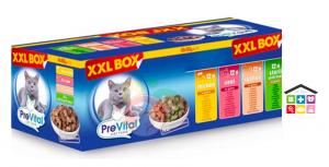 PREVITAL CLASSIC XXL GIGA BOX CHICKEN, VEAL, SALMON, STERILE WIT 48pz
