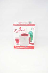 Tritaghiaccio Rigamonti Nuovo Art.175 Rosso Bianco