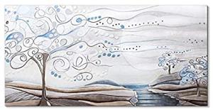 Quadro Cartapietra L'albero dei sogni Carta da zucchero Made in Italy 1010106CZ