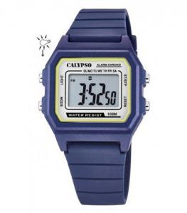 Orologio da polso digitale bambino Calypso blu K5805/3