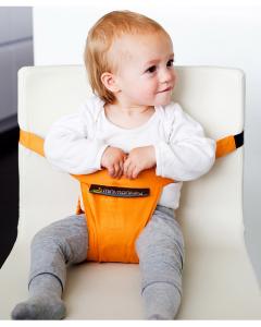 Minichair - Arancio - Seggiolino Universale da Tavolo - Sta anche in borsa!