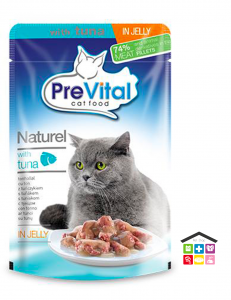 PREVITAL NATUREL PUCH WITH TUNA 0,85G