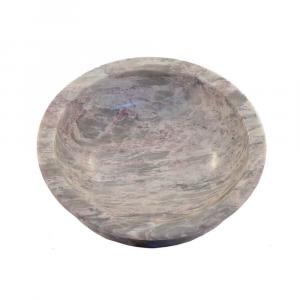 Centrotavola in marmo Breccia Salomé lavorato a mano