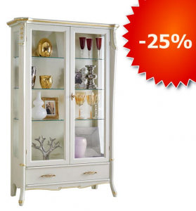 PROMO! Lacquered display cabinet Beautiful Line