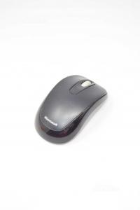 Mouse Microsoft Nero Con Usb