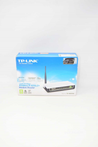 MODEM TP-LINK MODEM ROUTER WIRELESS N ADSL2+ MODEL TD-W8151N