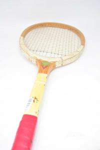 Tennis Racket Eros Wood Vintage