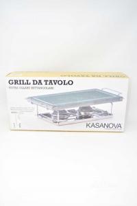 Grill Da Tavolo In Pietra Ollare Rettangolare Kasanova Nuova