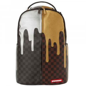 Sprayground Zaino Bi color Henny Marrone Nero Unisex