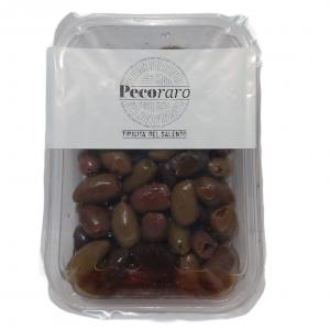 Olive Riviera denocciolate bagnate in olio - PecoRaro