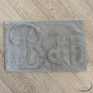 Tappeto Bath grigio chiaro