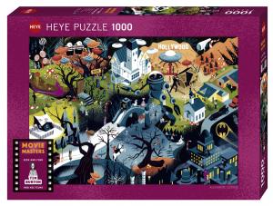 Heye-Tim Burton films-puzzle 1000 pz