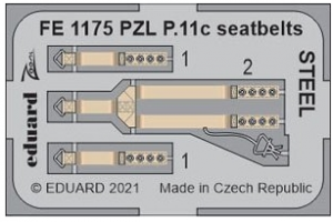 PZL P.11c Seatbelts Steel