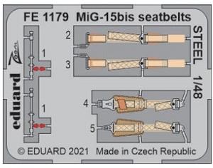 MiG-15bis Seatbelts Steel