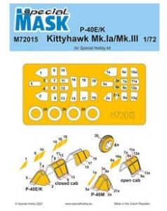 P-40E/K/Kittyhawk Mk.Ia/Mk.III Mask