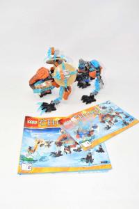 Lego Legend Of Chima 70143 Con Istruzioni