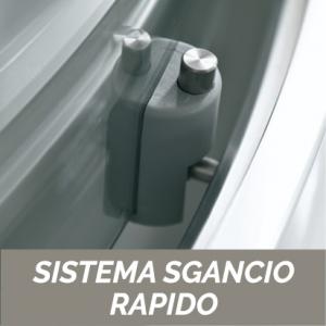1 LATO CRISTALLO 6 MM PER BOX ANGOLO CEE ART                           cm 75-77 / Apertura cm 40