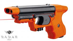 Pistola JPX protector KIT con puntatore laser e cartuccia spray compresa