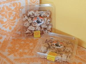 Vaschetta Torrone Mandorle al Miele di Castagno - Tagliato a pezzi - 200g