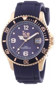 Orologio Unisex Ice watch. Sportivo blu. Cassa rosè.