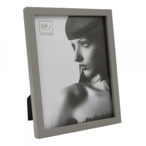 Mascagni portafoto legno grigio 15x20 bordo fino
