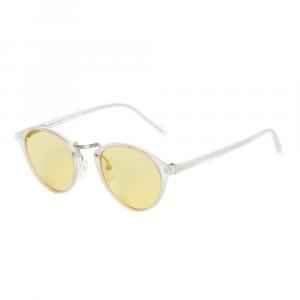 Occhiali da sole giallo collezione Audacia Flat ad alta protezione