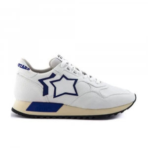 Atlantic Stars Sneakers Sportiva Bianco Crema  da Uomo