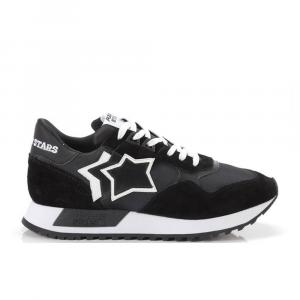 Atlantic Stars Sneakers Sportiva Nera da Uomo
