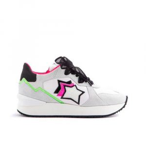 Atlantic Stars Sneakers Sportiva con decori da Donna
